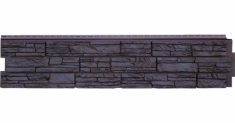 Фасадная панель Grand Line ЯФАСАД Крымский сланец (Уголь), 1,53м